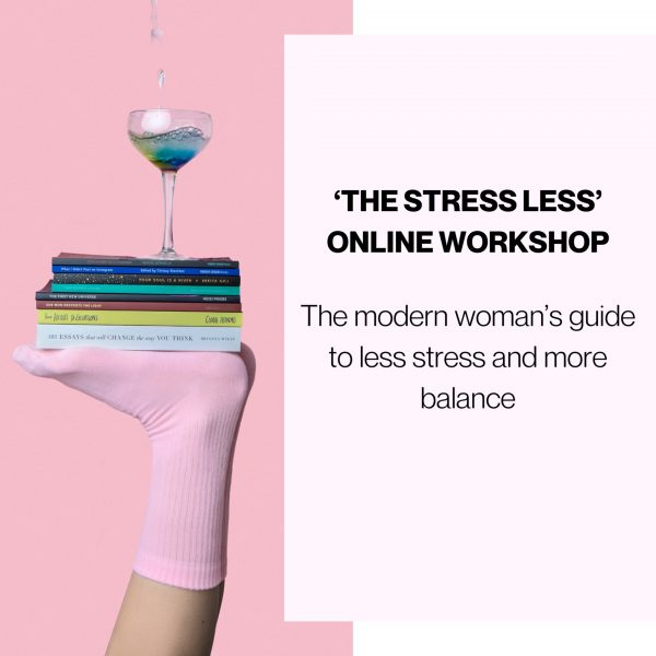 the stress less online workshop